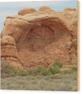 Arches Formation 36 Wood Print