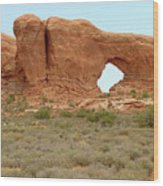 Arches Formation 37 Wood Print