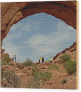 Arches Formation 38 Wood Print