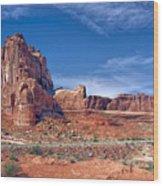 Arches Nat Park Utah  Wood Print