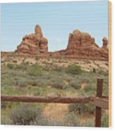 Arches National Park 23 Wood Print