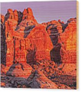 Arches National Park Pano One Wood Print