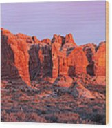 Arches National Park Pano Two Wood Print