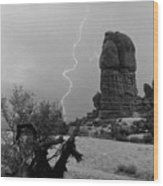 Arches National Park Utah-signed Wood Print