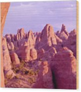Arches Sentinels Wood Print
