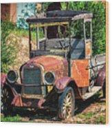 Archies Chevolet Taos Nm Wood Print