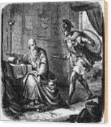 Archimedes (c287-212 B.c.) Wood Print