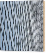 Architectural Abstract - 4 Wood Print
