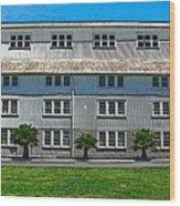 Architectural Design Mare Island Shipyard Vallejo Ca Wood Print
