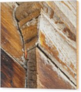 Architectural Detail At Bodie 1 Wood Print