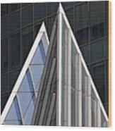 Architectural Detail Midtown Manhattan Wood Print