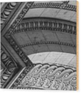 Architectural Details Of The Arc Wood Print
