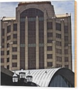 Architectural Differences Roanoke Virginia Wood Print
