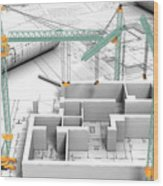 Architectural Drafting Services Wood Print