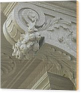 Architectural Element Wood Print