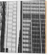 Architectural Pattern Study 1.0 Wood Print