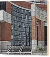 Architecture And Reflections Wood Print