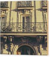 Architecture In Paris Wood Print