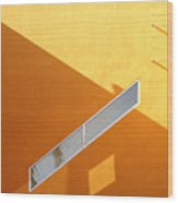Architecture Study 8 Wood Print by Dale Hart