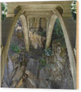 Archway To The Abyss Wood Print