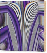 Archways Wood Print