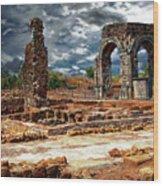 Arco De Caparra Wood Print