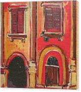 Arco Di Firenze Wood Print