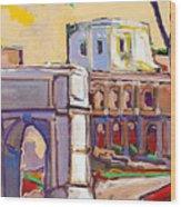 Arco Di Romano Wood Print