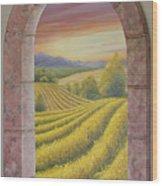 Arco Vinal Wood Print
