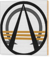 Arcturian Emblem Wood Print