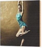Ardent Dancer Wood Print