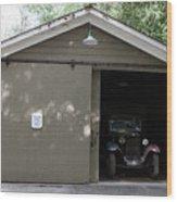 Ardenwood Historic Farm Garage Wood Print