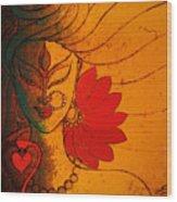 Ardhanarishwar Wood Print