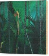 Areca Plam Wood Print