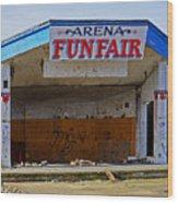 Arena Funfair. Wood Print