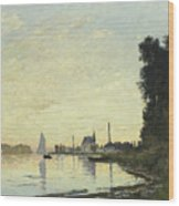 Argenteuil In Late Afternoon Wood Print