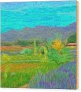 Argentina 1 - Wood Print