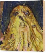 Argh  Matey - No Votes Accepted For Debbie May Wood Print