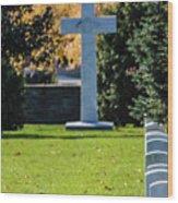 Argonne Cross Memorial Wood Print