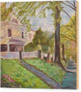 Argonne Wood Print