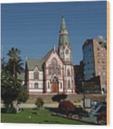 Arica Chile Church Wood Print