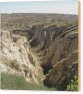Arikaree Breaks Canyon Wood Print