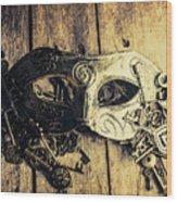 Aristocratic Social Affairs Wood Print