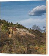 Arizona Barn Wood Print