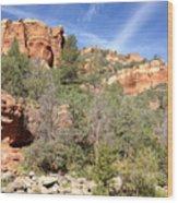 Arizona Canyon Sky Four Wood Print