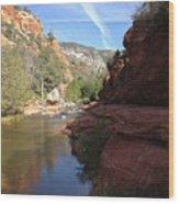 Arizona Canyon Sky Two Wood Print