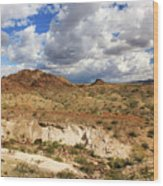 Arizona Cliffs Wood Print