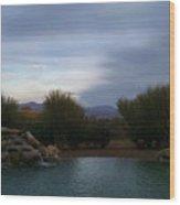 Arizona Evening Wood Print