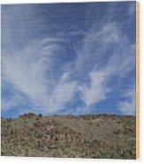 Arizona Foothill Sky Wood Print