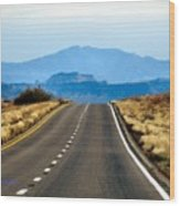 Arizona Highways Wood Print